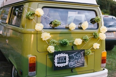 Weddings, VW Bus Rentals
