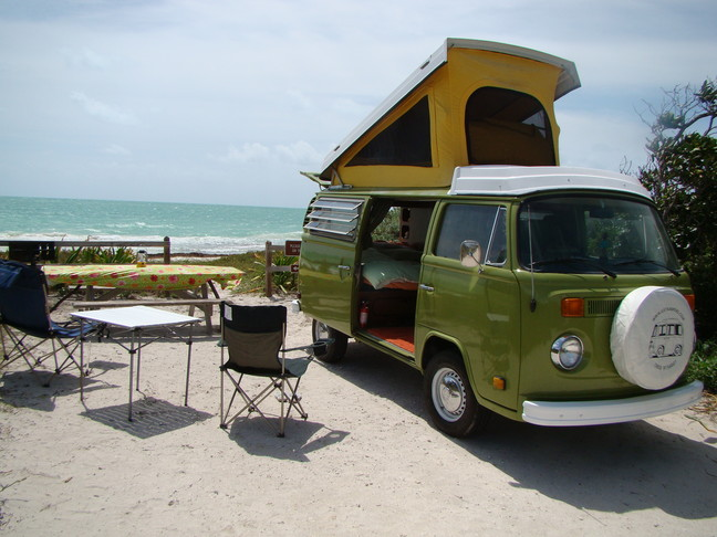 Reliable Classic Ride, VW Bus Rentals, Campervan Rentals, VW Bus Rentals, Key West, Camping