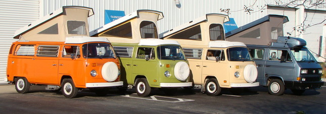 How to rent a VW Camper in Florida