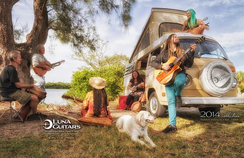Luna Guitars, VW Bus Rentals